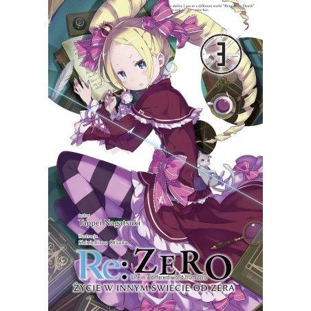 RE ZERO Życie w innym świecie od zera Light novel tom 3