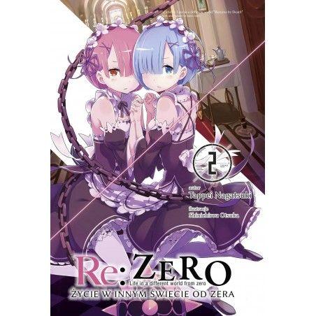 RE ZERO Życie w innym świecie od zera Light novel tom 2