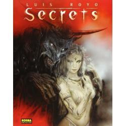 SECRETS LUIS ROYO Artbook