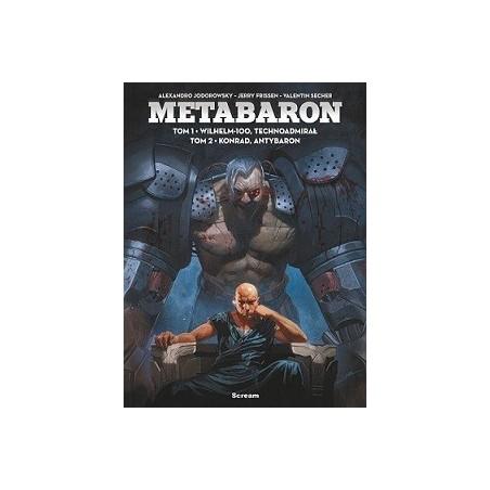 METABARON tom 1- 2 Wilhelm-100,  Technoadmirał /  Konrad, Antybaron