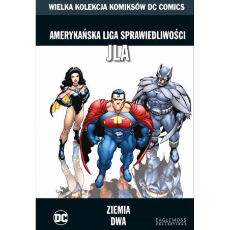 WIELKA KOLEKCJA KOMIKSÓW DC COMICS tom 10 Amerykańska Liga Sprawiedliwości Ziemia dwa