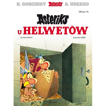 ASTERIKS tom 16 Asteriks u Helwetów