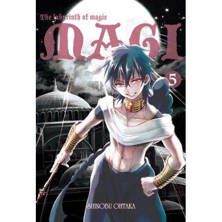 MAGI: The Labyrinth of Magic tom 5