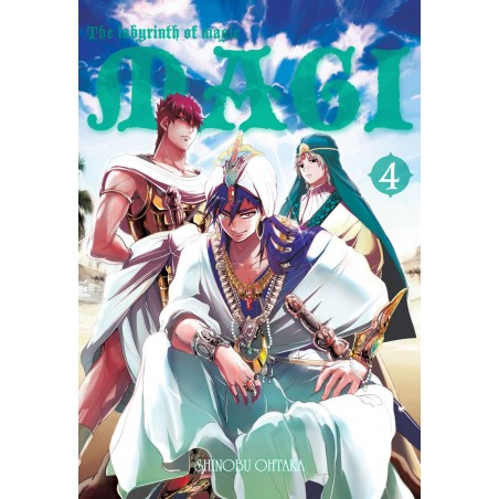 MAGI: The Labyrinth of Magic tom 4