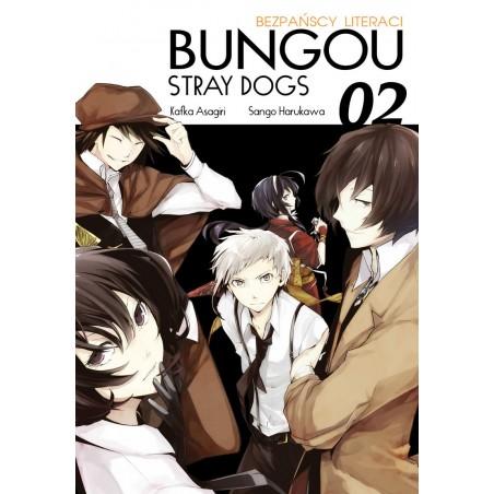 BUNGOU STRAY DOGS Bezpańscy Literaci tom 2
