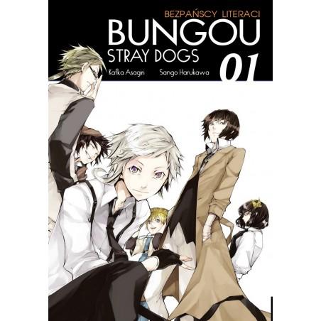 BUNGOU STRAY DOGS Bezpańscy Literaci tom 1