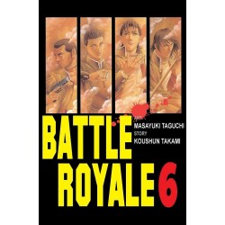 BATTLE ROYALE tom 6
