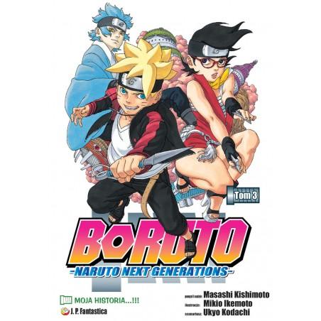 BORUTO tom 3