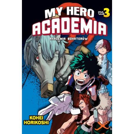 MY HERO ACADEMIA (AKADEMIA BOHATERÓW) tom 3