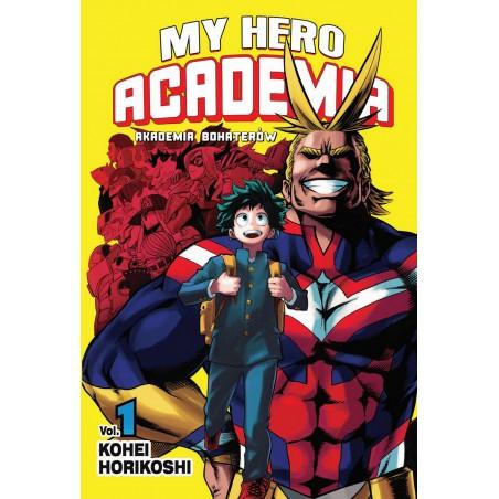 MY HERO ACADEMIA (AKADEMIA BOHATERÓW) tom 1