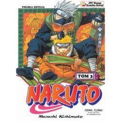 NARUTO tom 3