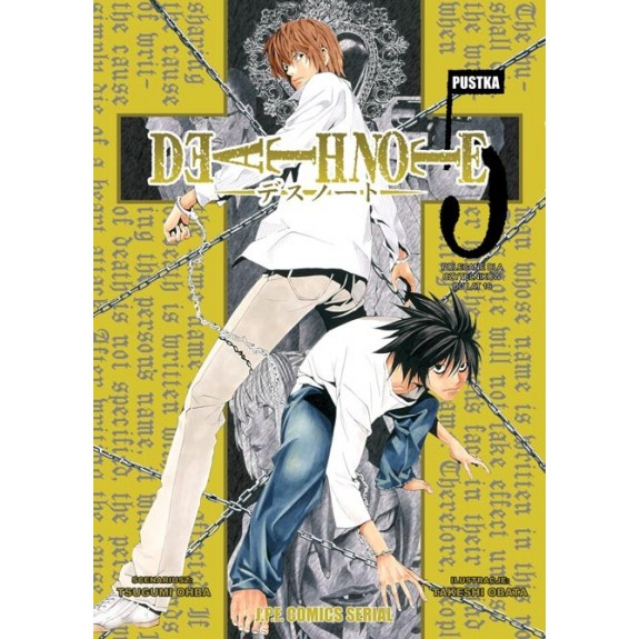 DEATH NOTE tom 5