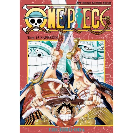 ONE PIECE tom 15