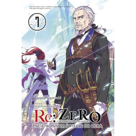 RE ZERO Życie w innym świecie od zera Light novel tom 7