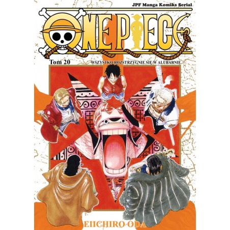 ONE PIECE tom 20