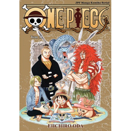 ONE PIECE tom 31