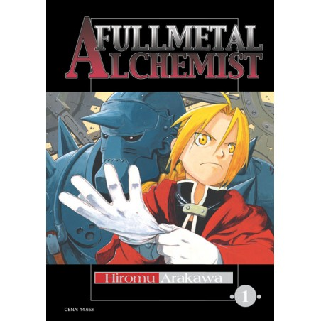 FULLMETAL ALCHEMIST tom 1