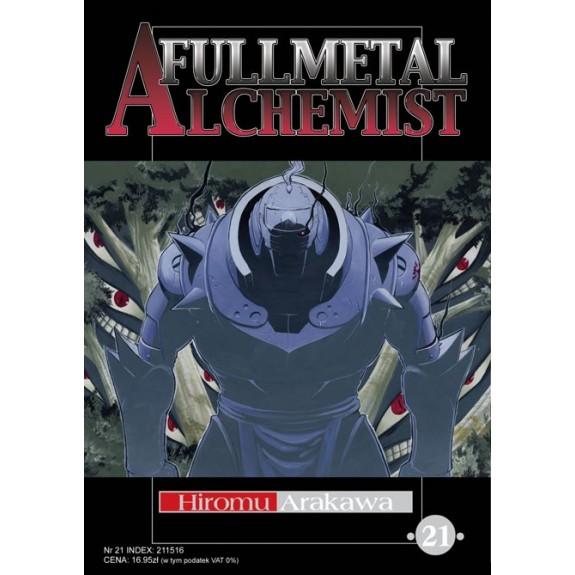 FULLMETAL ALCHEMIST tom 21