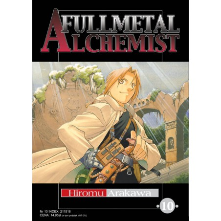 FULLMETAL ALCHEMIST tom 10