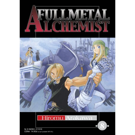 FULLMETAL ALCHEMIST tom 8