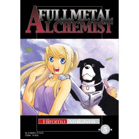 FULLMETAL ALCHEMIST tom 5