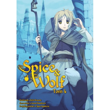 SPICE AND WOLF tom 4