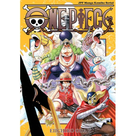 ONE PIECE tom 38