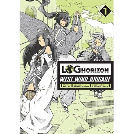 LOG HORIZON West Wind Brigade tom 1