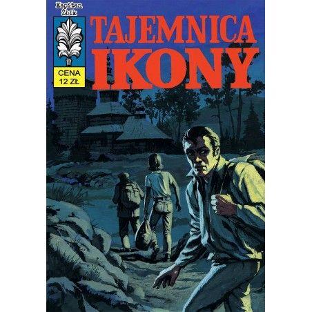 KAPITAN ŻBIK tom 8 Tajemnica ikony (okładka A)