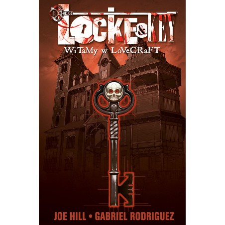 LOCKE & KEY tom 1 Witamy w Lovecraft