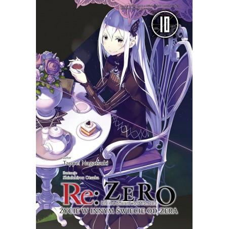 RE ZERO Życie w innym świecie od zera Light novel tom 10