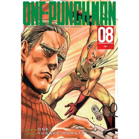 ONE-PUNCH MAN tom 8