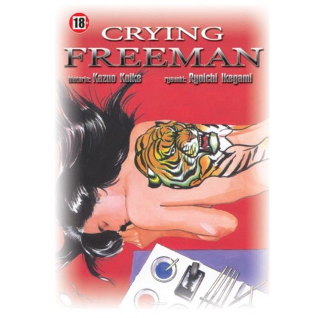 CRYING FREEMAN tom 8