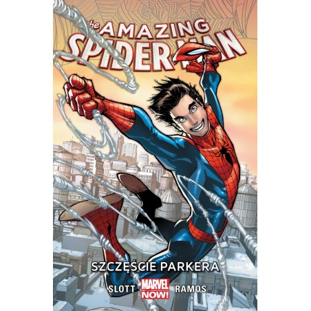 AMAZING SPIDER-MAN tom 1 Szczęście Parkera