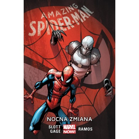 AMAZING SPIDER-MAN tom 4 Nocna zmiana
