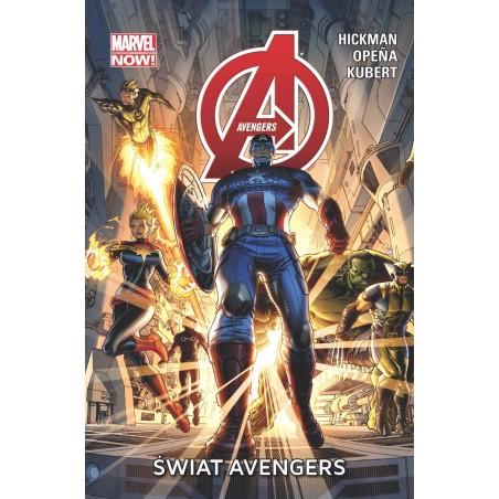 AVENGERS tom 1 Świat Avengers
