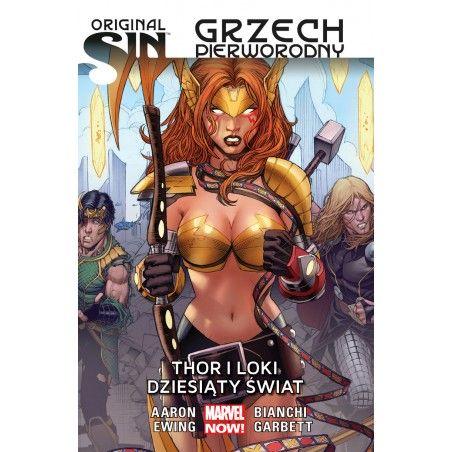ORIGINAL SIN GRZECH PIERWORODNY tom 2 Thor i Loki Dziesiąty świat
