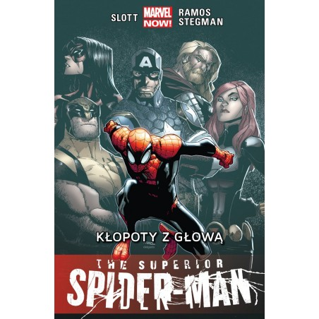 THE SUPERIOR SPIDER-MAN tom 3 Kłopoty z głową