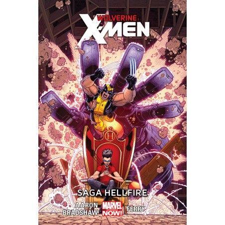 WOLVERINE I X-MEN tom 3 Saga Hellfire