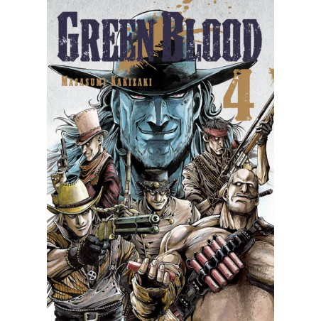 GREEN BLOOD tom 4