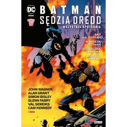BATMAN SĘDZIA DREDD...