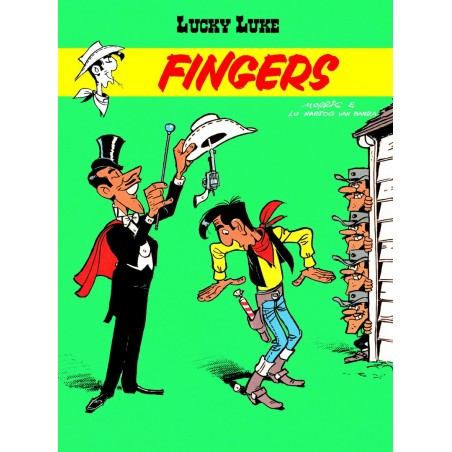 LUCKY LUKE tom 52 Fingers