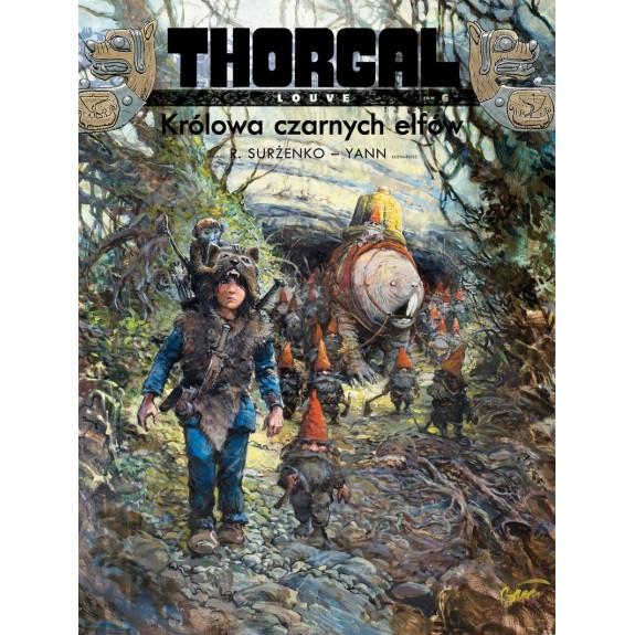 THORGAL LOUVE tom 6 Królowa czarnych elfów (oprawa miękka)