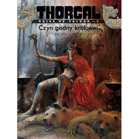 THORGAL KRISS DE VALNOR tom 3 Czyn godny królowej (oprawa miękka)