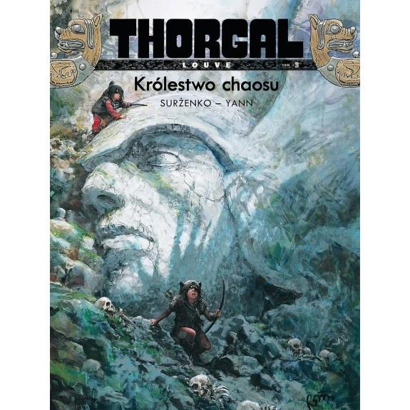 THORGAL LOUVE tom 3 Królestwo chaosu (oprawa twarda)