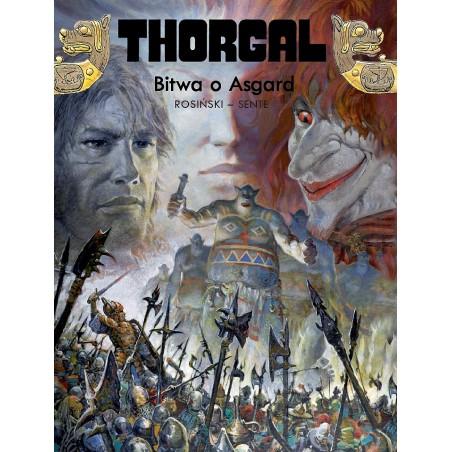 THORGAL tom 32 Bitwa o Asgard (oprawa twarda)