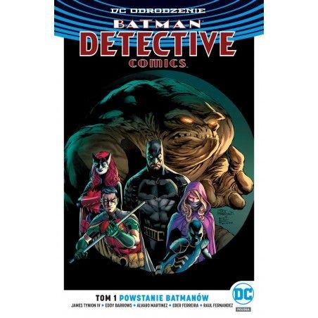 DC ODRODZENIE BATMAN DETECTIVE COMICS tom 1 Powstanie Batmanów