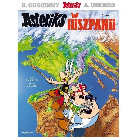 ASTERIKS tom 14 Asteriks w Hiszpanii