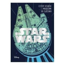 STAR WARS Cztery książki z...