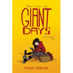 GIANT DAYS tom 1 Królowe dramy